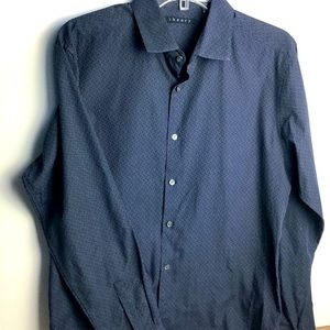 Theory   Men's Sylvain SPR_Emory Style Shirt Large